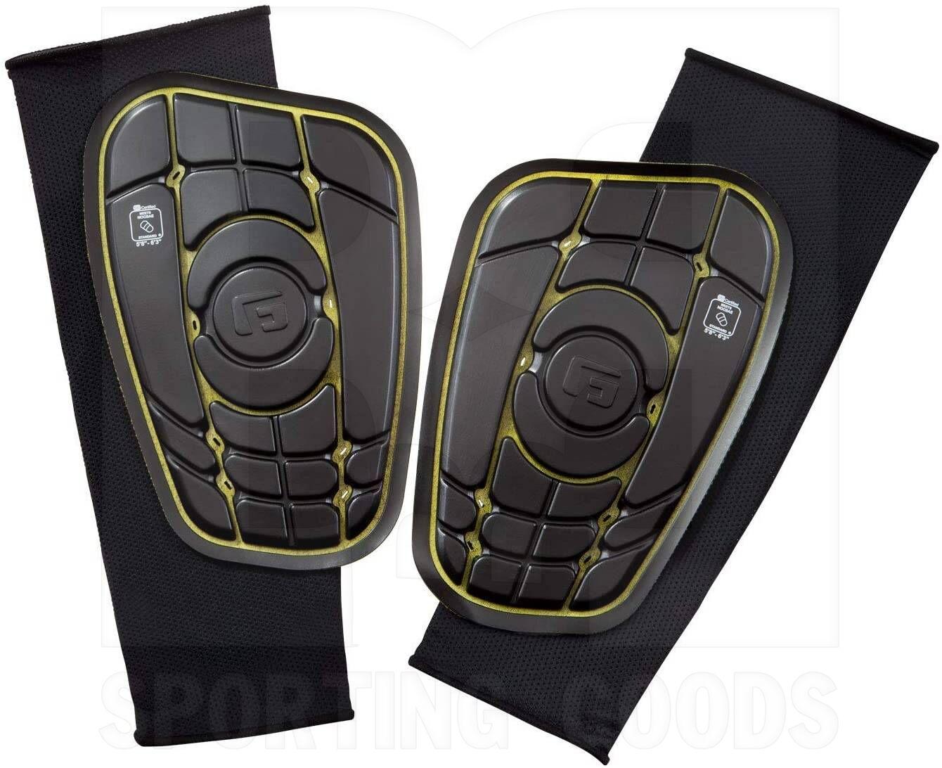 G-Form Pro-S Elite Shin Guards Black//Yellow X-Large