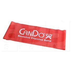 105242 CanDo Low Powder Resistive Exercise Band Red Light 48""