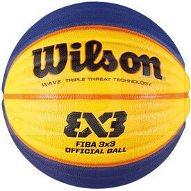 "B0533 Wilson FIBA 3X3 Official Game Outdoor Basketball Size 6 (28.5"")"