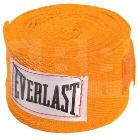 "4455OR Everlast Venda de Mano para Boxeo 120"" Naranja"