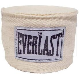 4455NAT Everlast Boxing Hand Wraps Natural 120""