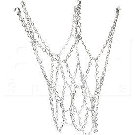 NG01 Champion Steel Chain Basketball Net Silver