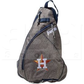 76042-HOU Franklin MLB Houston Astros Slingback Bag