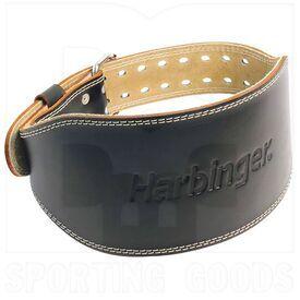 """28540 Harbinger Cinturón de Cuero Acolchado 6 """" Negro"""