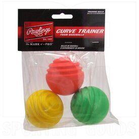 CURVETRAIN Rawlings Curve Trainer 3 Balls