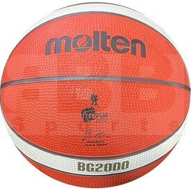 "G20-5 Molten B5G2000 Indoor/Outdoor Rubber Basketball FIBA Approved Size 5 (27.5"")"
