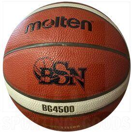 """G45-7 Molten BG4500 Official Baloncesto Superior Nacional FIBA Approved Basketball Size 7 (29.5"""")"""