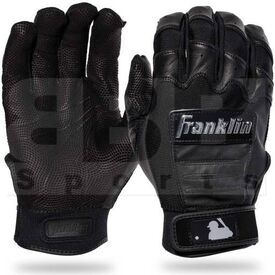 20590F4 Franklin Sports MLB CFX Pro Baseball/Softball Batting Gloves Black