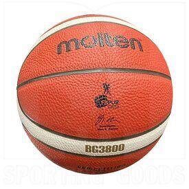 """G38-5 Molten Bola de Baloncesto B5G3800 Aprobado por FIBA & FBPUR Tamaño 5 (27.5"""")"""