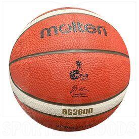 """G38-6 Molten Bola de Baloncesto B6G3800 Aprobado por FIBA & FBPUR Tamaño 6 (28.5"""")"""
