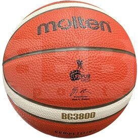 "G38-7 Molten B7G3800 Polyurethane Composite Leather Basketball FIBA & FBPUR Approved Official Size 7 (29.5"")"