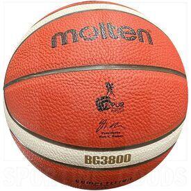 """G38-7 Molten Bola de Baloncesto B7G3800 Cuero Compuesto PU Aprobado por FIBA & FBPUR Tamaño Oficial 7 (29.5"""")"""