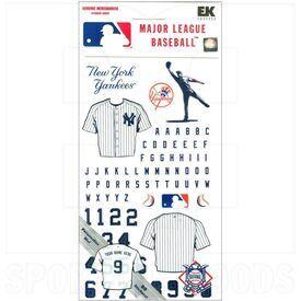 607 MLB New York Yankees Stickers