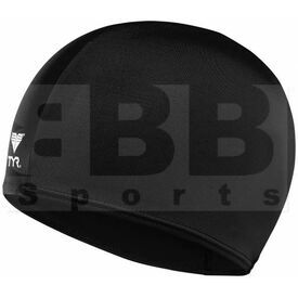 LCY-001 TYR Adult Lycra Swim Cap Black