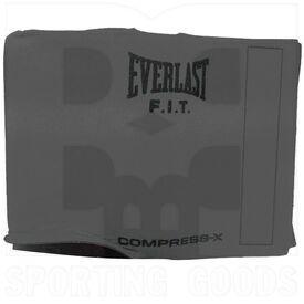 """P378 Everlast Waist Trimmer Slimmer Belt 10"""" W x 52"""" L Grey"""