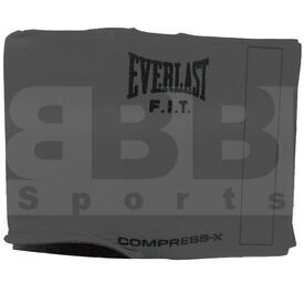 "P378 Everlast Waist Trimmer Slimmer Belt 52"" L Grey"