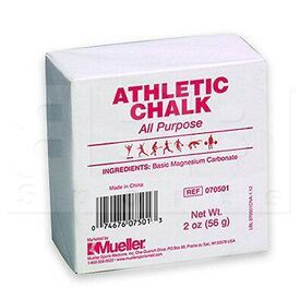 070501 Mueller Athletic Gymnastic Weightlifting Chalk Block Bar 2 oz