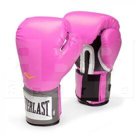 1200028 Everlast Pro Style Training Boxing Gloves Pink 12oz