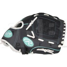 "PL10BMT Rawlings Players Glove 10"" Youth Black"