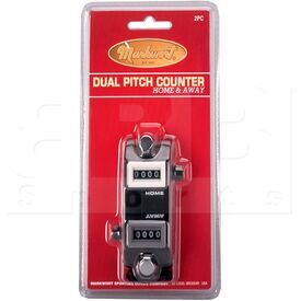2PC Markwort Dual Pitch Counter Home & Away