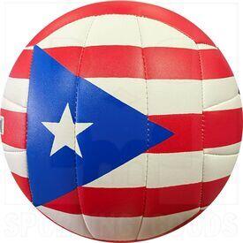 MS500-PR Molten Puerto Rico Balon de  Voleibol Rojo
