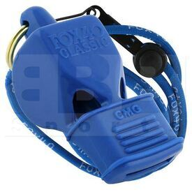9603-0508 Fox 40 Whistle Classic CMG w/ Lanyard Blue