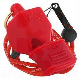 9603-0108 Fox 40 CMG Silbato Clásico con Cordón Rojo