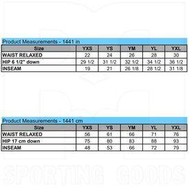 1441.053.XL Augusta Youth Series Softball/Baseball Pant Blue Grey