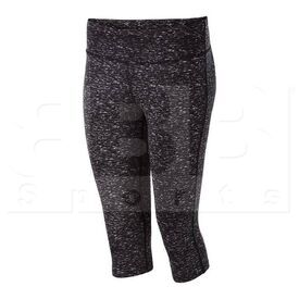 229398.N12.XS Augusta Sports Ladies Hyperform Compression Capri Black Space Dye