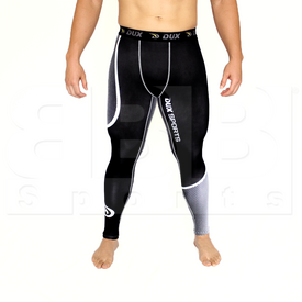 CP1210YL Dux Sports Dots Compression Pant Black