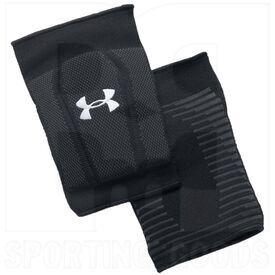 1290867-BK-L Under Armour Rodilleras de Voleibol Unisex-Adult Armor 2.0 Negra/Blanca