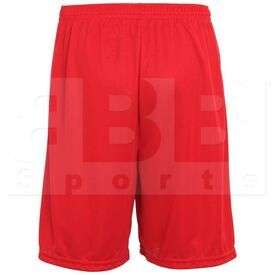 1420.040.S Augusta Training Short w/ Covered Elastic Waistband Drawcord Inside Red