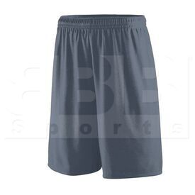 1420.059.L Augusta Training Short w/ Covered Elastic Waistband Drawcord Inside Graphite