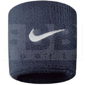 AC0009-416 Nike Swoosh Sweat Wristband Navy
