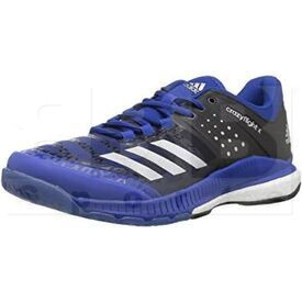 B01NALR6VH Adidas Crazyflight X Shoes Royal/Silver/Black
