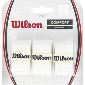 Z4014-WH Wilson Juego de 3 Overgrip de Raqueta de Tenis Profesional Blanco