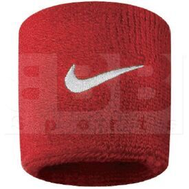 AC0009-601 Nike Swoosh Pulseras de Sudor Roja