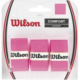 Z4014-PK Wilson Juego de 3 Overgrip de Raqueta de Tenis Profesional Rosa