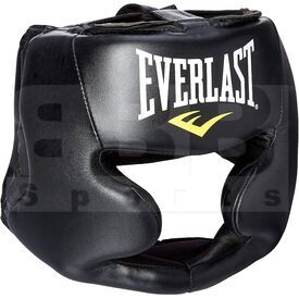 4022 Everlast Boxing Protective Headgear Black