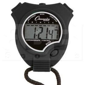 910BK Champion Sports Stopwatch Black