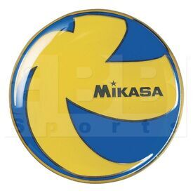 TCVA Mikasa TCVA Official Volleyball Toss Coin Blue/Yellow
