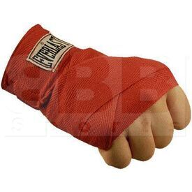 4455SC Everlast Boxing Hand Wraps Red 120""