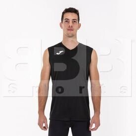 100436.100.M Joma Sleeveless Shirt Combi Black