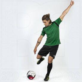 101264.451.YL Joma Championship V Short Sleeve Shirt Green/Black