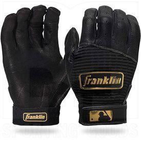 20984-BKGO-XXL Franklin Sports MLB Pro Classic Guantes de bateo de béisbol