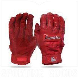 20593F5 Franklin Sports Guantes de Bateo para Beisbol/Softbol MLB CFX Pro Scarlet