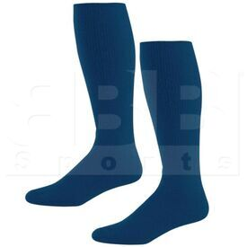 328030.065.L High Five Athletic Knee-Length Socks Pair Navy