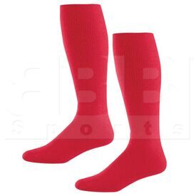 328030.083.L High Five Athletic Knee-Length Socks Pair Scarlet