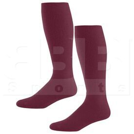 328030.745.L High Five Athletic Knee-Length Socks Pair Maroon