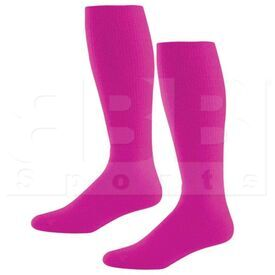 328030.809.L High Five Athletic Knee-Length Socks Pair Power Pink
